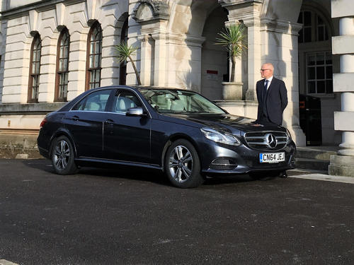 mercedes chauffeur driven to hire in cardiff pembrokeshire